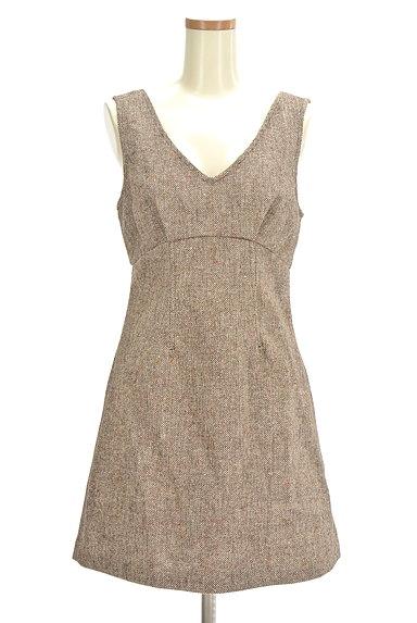 MERCURYDUO(マーキュリーデュオ)の古着「背中開き切替ワンピース(ワンピース・チュニック)」大画像1へ