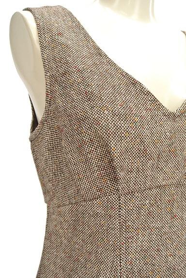 MERCURYDUO(マーキュリーデュオ)の古着「背中開き切替ワンピース(ワンピース・チュニック)」大画像4へ