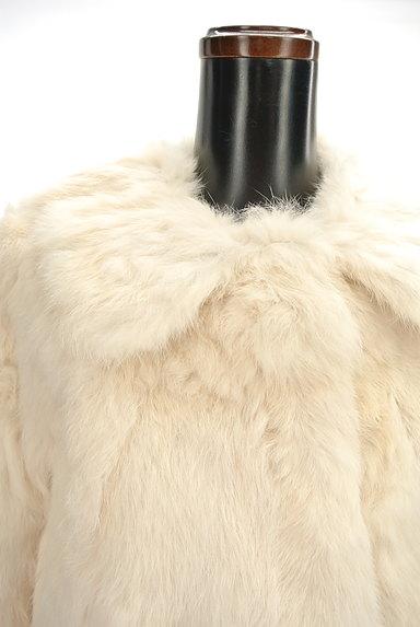 MERCURYDUO(マーキュリーデュオ)の古着「ラビットファージャケット(コート)」大画像4へ