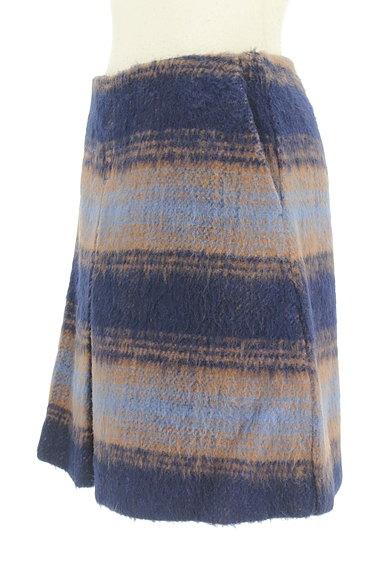 MERCURYDUO(マーキュリーデュオ)の古着「タックセミフレアスカート(スカート)」大画像3へ