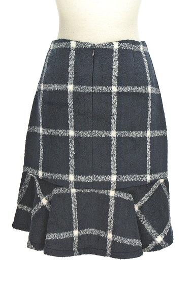 MERCURYDUO(マーキュリーデュオ)の古着「格子柄切替マーメイドスカート(スカート)」大画像2へ