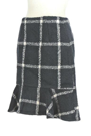 MERCURYDUO(マーキュリーデュオ)の古着「格子柄切替マーメイドスカート(スカート)」大画像3へ