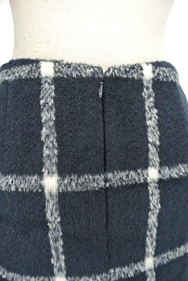 MERCURYDUO(マーキュリーデュオ)の古着「格子柄切替マーメイドスカート(スカート)」大画像4へ
