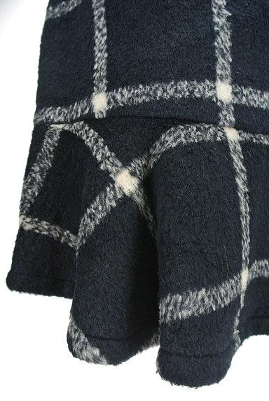 MERCURYDUO(マーキュリーデュオ)の古着「格子柄切替マーメイドスカート(スカート)」大画像5へ