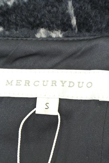 MERCURYDUO(マーキュリーデュオ)の古着「格子柄切替マーメイドスカート(スカート)」大画像6へ