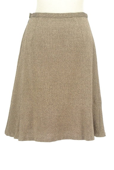 DO!FAMILY(ドゥファミリー)の古着「MIXウールセミフレアスカート(スカート)」大画像2へ