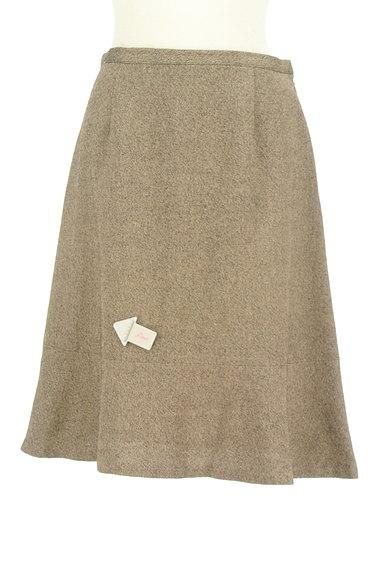 DO!FAMILY(ドゥファミリー)の古着「MIXウールセミフレアスカート(スカート)」大画像4へ