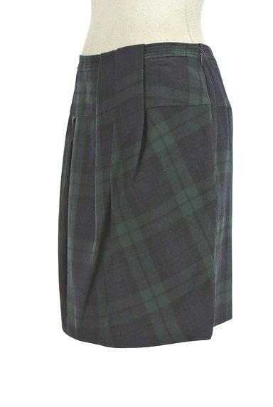 TOMORROWLAND(トゥモローランド)の古着「チェック柄膝上タイトスカート(ミニスカート)」大画像3へ