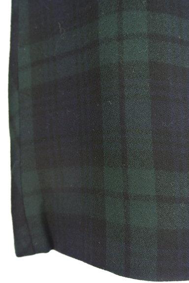 TOMORROWLAND(トゥモローランド)の古着「チェック柄膝上タイトスカート(ミニスカート)」大画像5へ