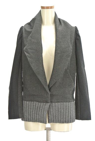 TSUMORI CHISATO(ツモリチサト)の古着「配色ショールカラーブルゾン(ブルゾン・スタジャン)」大画像1へ
