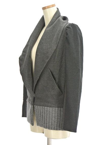 TSUMORI CHISATO(ツモリチサト)の古着「配色ショールカラーブルゾン(ブルゾン・スタジャン)」大画像3へ