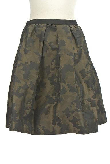 NOLLEY'S(ノーリーズ)の古着「カモフラ膝上フレアスカート(スカート)」大画像1へ