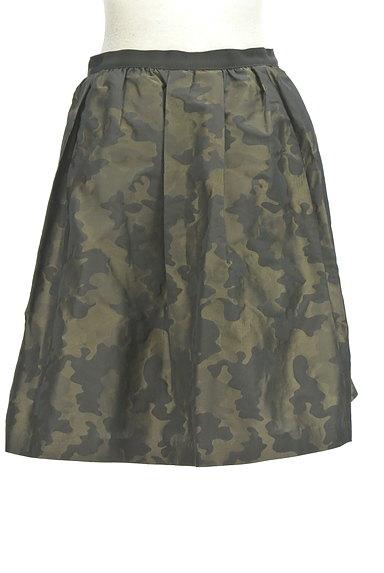 NOLLEY'S(ノーリーズ)の古着「カモフラ膝上フレアスカート(スカート)」大画像2へ