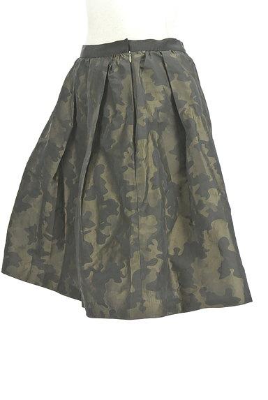 NOLLEY'S(ノーリーズ)の古着「カモフラ膝上フレアスカート(スカート)」大画像3へ