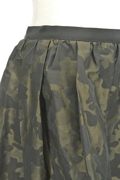 NOLLEY'S(ノーリーズ)の古着「カモフラ膝上フレアスカート(スカート)」大画像4へ