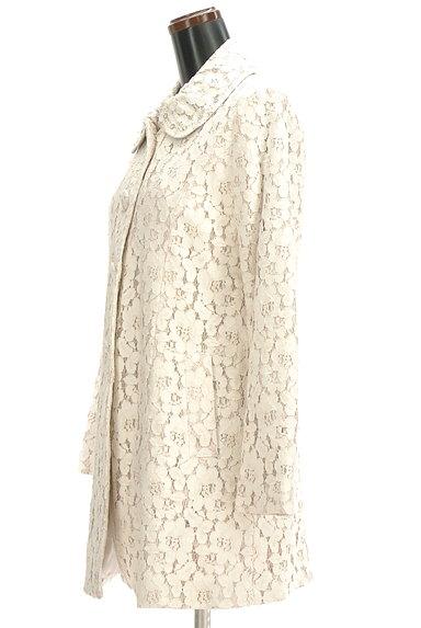 L'EST ROSE(レストローズ)の古着「フラワーレースロングコート(コート)」大画像3へ