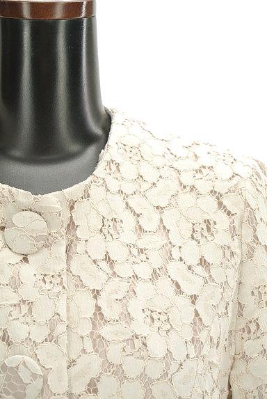 L'EST ROSE(レストローズ)の古着「フラワーレースロングコート(コート)」大画像4へ