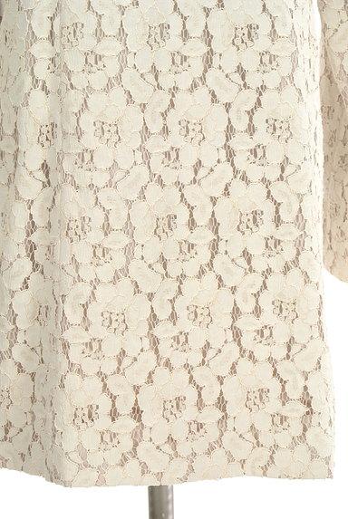 L'EST ROSE(レストローズ)の古着「フラワーレースロングコート(コート)」大画像5へ