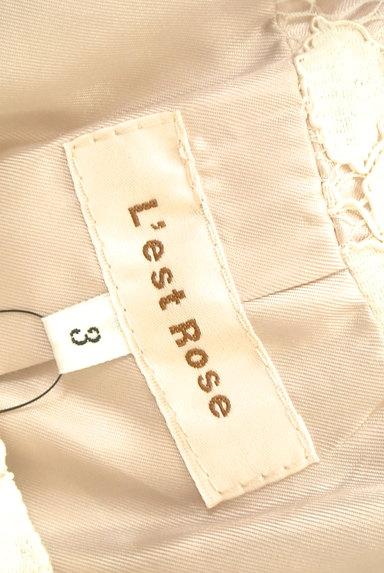 L'EST ROSE(レストローズ)の古着「フラワーレースロングコート(コート)」大画像6へ