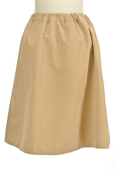 Te chichi(テチチ)の古着「無地×ギンガムチェックリバーシブルスカート(スカート)」大画像2へ