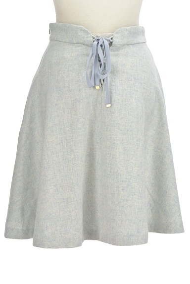 LAISSE PASSE(レッセパッセ)の古着「後ろリボンフレアスカート(スカート)」大画像2へ