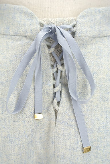 LAISSE PASSE(レッセパッセ)の古着「後ろリボンフレアスカート(スカート)」大画像4へ
