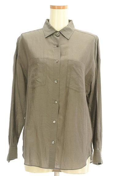 NOLLEY'S(ノーリーズ)の古着「パッチポケット付シャツ(カジュアルシャツ)」大画像1へ