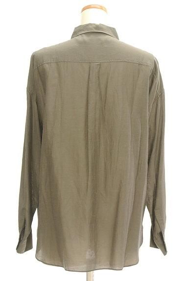 NOLLEY'S(ノーリーズ)の古着「パッチポケット付シャツ(カジュアルシャツ)」大画像2へ