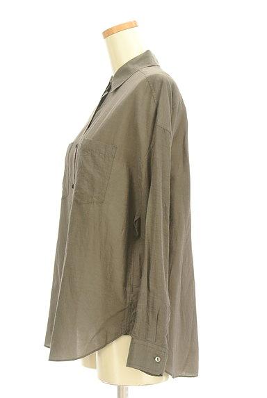 NOLLEY'S(ノーリーズ)の古着「パッチポケット付シャツ(カジュアルシャツ)」大画像3へ