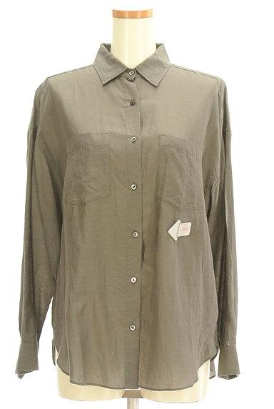 NOLLEY'S(ノーリーズ)の古着「パッチポケット付シャツ(カジュアルシャツ)」大画像4へ