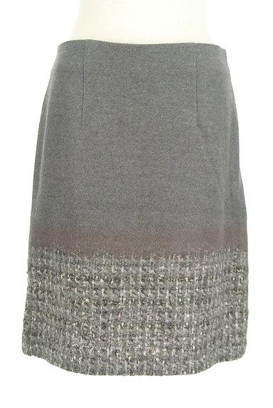 TOMORROWLAND(トゥモローランド)の古着「切替ウールスカート(スカート)」大画像1へ