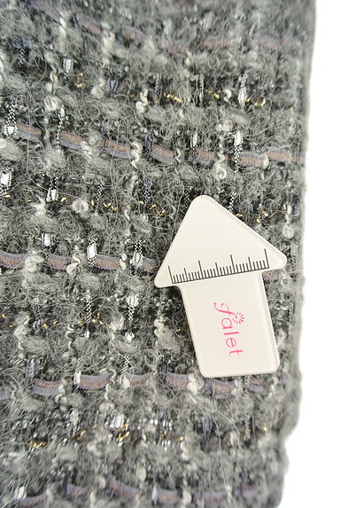 TOMORROWLAND(トゥモローランド)の古着「切替ウールスカート(スカート)」大画像5へ