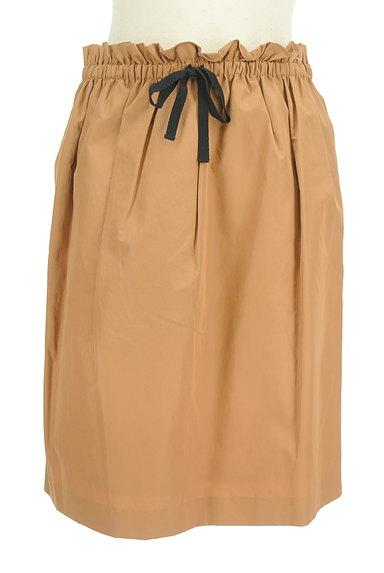 DES PRES(デプレ)の古着「ドロストリボンセミフレアスカート(スカート)」大画像1へ