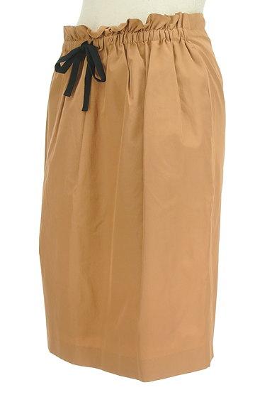 DES PRES(デプレ)の古着「ドロストリボンセミフレアスカート(スカート)」大画像3へ