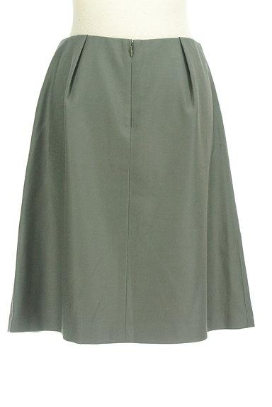 TOMORROWLAND(トゥモローランド)の古着「無地タックフレアスカート(スカート)」大画像2へ