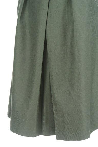 TOMORROWLAND(トゥモローランド)の古着「無地タックフレアスカート(スカート)」大画像4へ