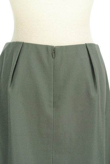 TOMORROWLAND(トゥモローランド)の古着「無地タックフレアスカート(スカート)」大画像5へ