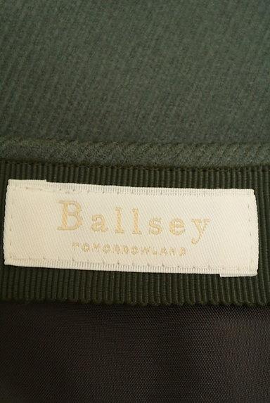 TOMORROWLAND(トゥモローランド)の古着「無地タックフレアスカート(スカート)」大画像6へ
