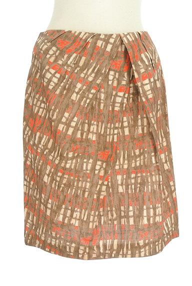 TOMORROWLAND(トゥモローランド)の古着「アートデザインセミフレアスカート(スカート)」大画像1へ