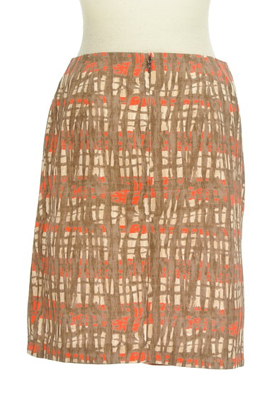 TOMORROWLAND(トゥモローランド)の古着「アートデザインセミフレアスカート(スカート)」大画像2へ