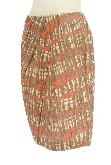 TOMORROWLAND(トゥモローランド)の古着「アートデザインセミフレアスカート(スカート)」大画像3へ