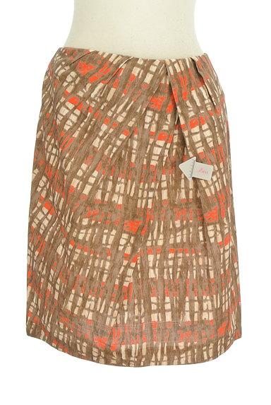 TOMORROWLAND(トゥモローランド)の古着「アートデザインセミフレアスカート(スカート)」大画像4へ