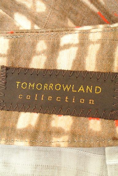 TOMORROWLAND(トゥモローランド)の古着「アートデザインセミフレアスカート(スカート)」大画像6へ