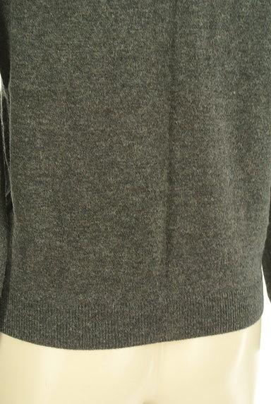 LE SOUK(ルスーク)の古着「バイカラーニットカーディガン(カーディガン・ボレロ)」大画像5へ