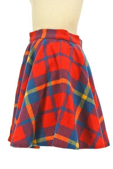 ef-de(エフデ)の古着「マルチカラーチェックスカート(ミニスカート)」大画像3へ