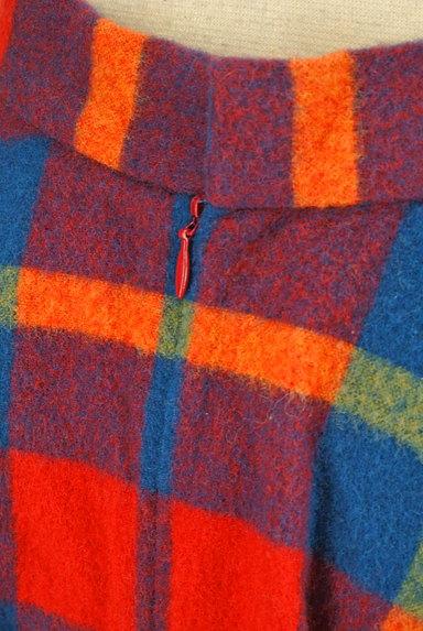 ef-de(エフデ)の古着「マルチカラーチェックスカート(ミニスカート)」大画像5へ