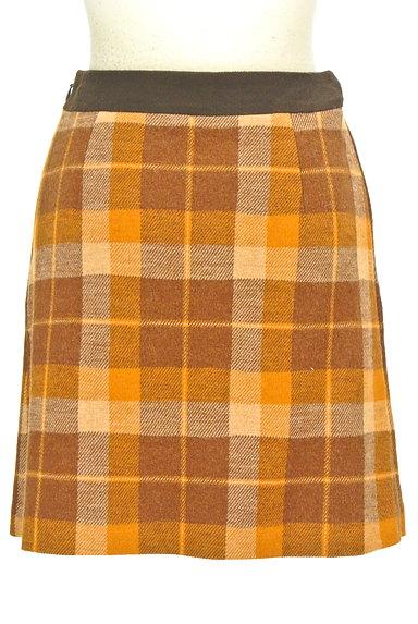 ef-de(エフデ)の古着「ラップ風チェック柄ミニスカート(ミニスカート)」大画像2へ