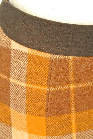 ef-de(エフデ)の古着「ラップ風チェック柄ミニスカート(ミニスカート)」大画像5へ
