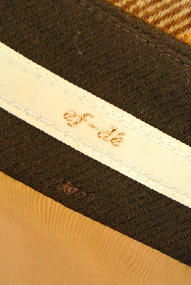 ef-de(エフデ)の古着「ラップ風チェック柄ミニスカート(ミニスカート)」大画像6へ