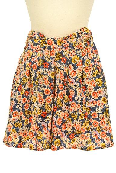 CLEAR IMPRESSION(クリアインプレッション)の古着「ウエストリボン花柄スカート(ショートパンツ・ハーフパンツ)」大画像1へ